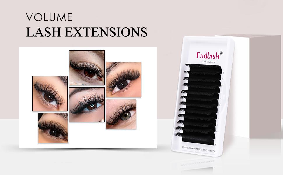 easy fan volume lashes