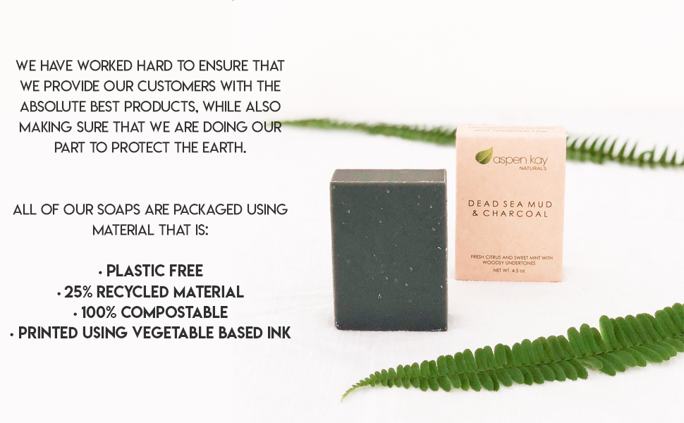recycled packaging plastic free compostable vegetable based