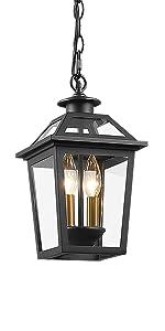Outdoor Pendant Light | Exterior Hanging Lantern | Outside Hanging Porch Lamp