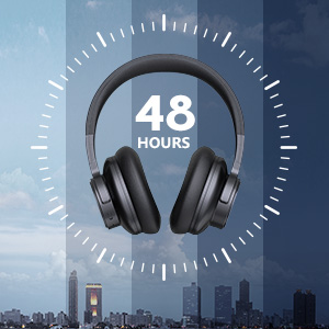 headphone and 48hours playtime