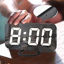 digital alarm clock for bedrooom