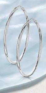 Cerchi con cerniera argento