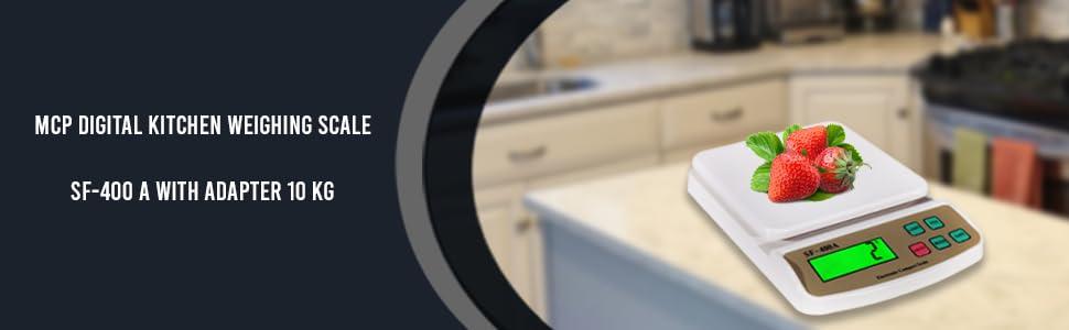 Mcp kitchen scale digital food weight machine weighing machine for kitchen home use digital 10kg