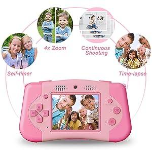 Multifunctional kids camera