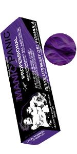 Love Power Purple hair dye