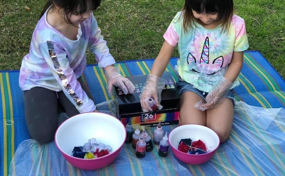 tie dye kit tye for kids girls die set powder pastel kits the party rit orange bikini adults black