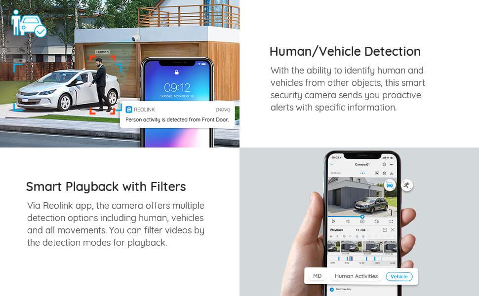 AI Person/Vehicle Detection
