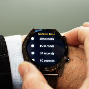 screen time adjustable