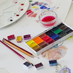 water color paper oil paint