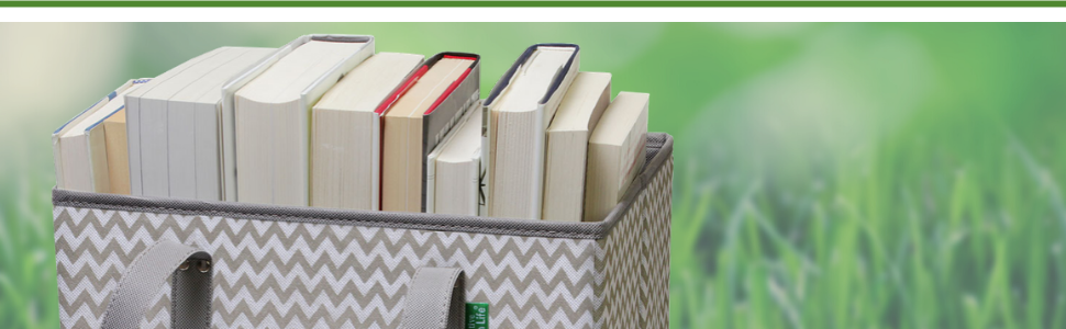 creative green life box bags with books