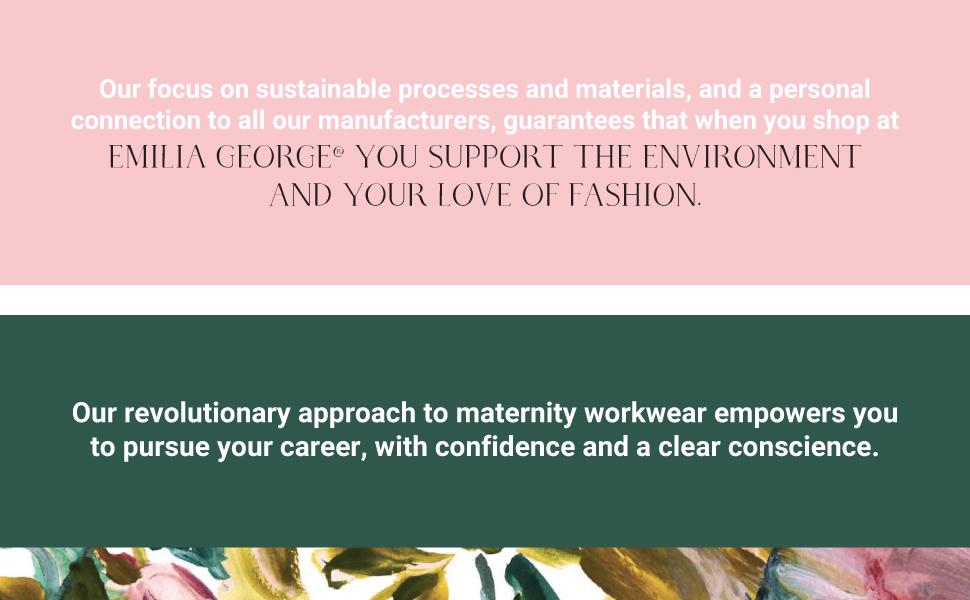 Emilia george maternity wear high end fashion designer clothing
