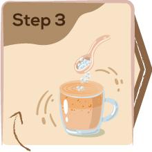 Step 3: Manna health mix cooking