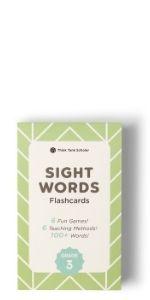 Think Tank Scholar 100+ Third (3rd) Grade Sight Words Flash Cards
