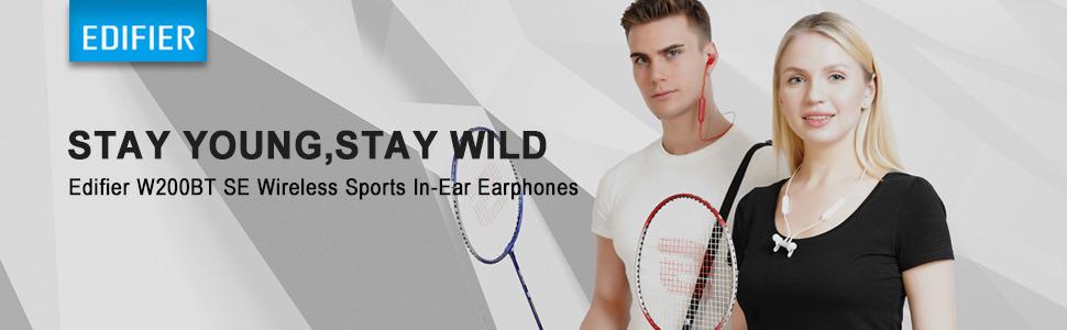 Bluetooth 5.0 Water Resistant in-Ear Sports Earphones CVC Noise Suppression