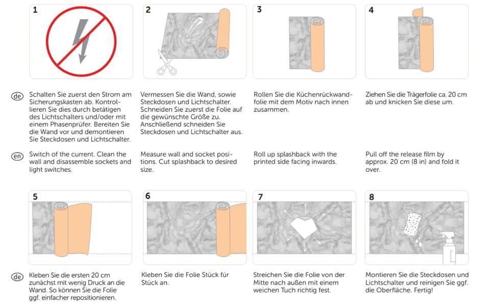 Bilderwelten Kuchenruckwand Klebefolie Fliesenspiegel Portugiesische Fliesen 50 X 50 Cm Smart Amazon De Kuche Haushalt