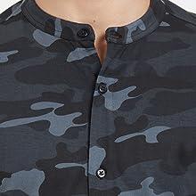 Chinese Collar T Shirt