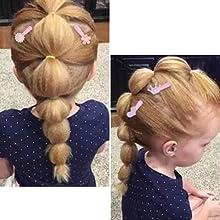 Snap Hair Clips for Women Girls, Funtopia 40 Pcs 7cm / 2.8 Inch Long No Slip Metal Hair Clips