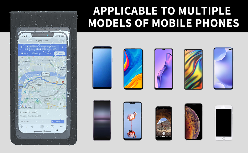 Applicable to multiple models of mobile phone