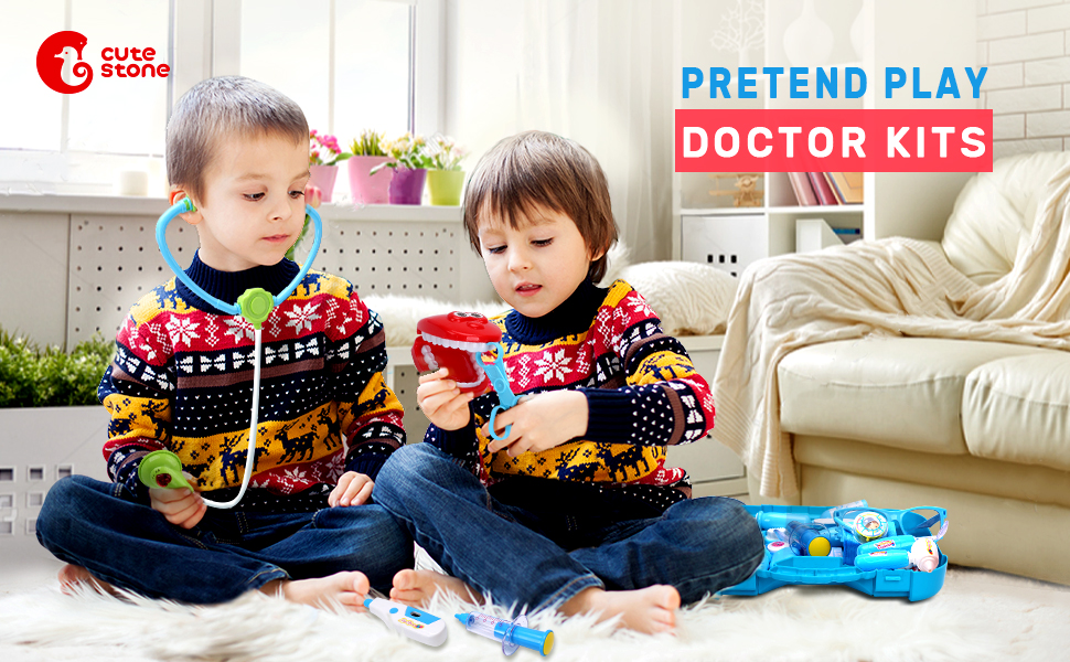 pretend play doctor kits