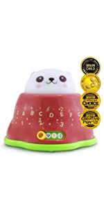 educational whack learning mole alphabet numbers colors music song sound babies toddlers