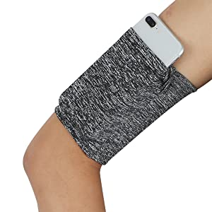 Cell Phone Running Arm Band - Variegated Grey