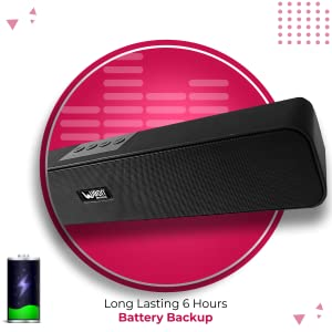 UBON SP-70 Wireless Bluetooth Soundbar Speaker (Black) SPN-FOR1