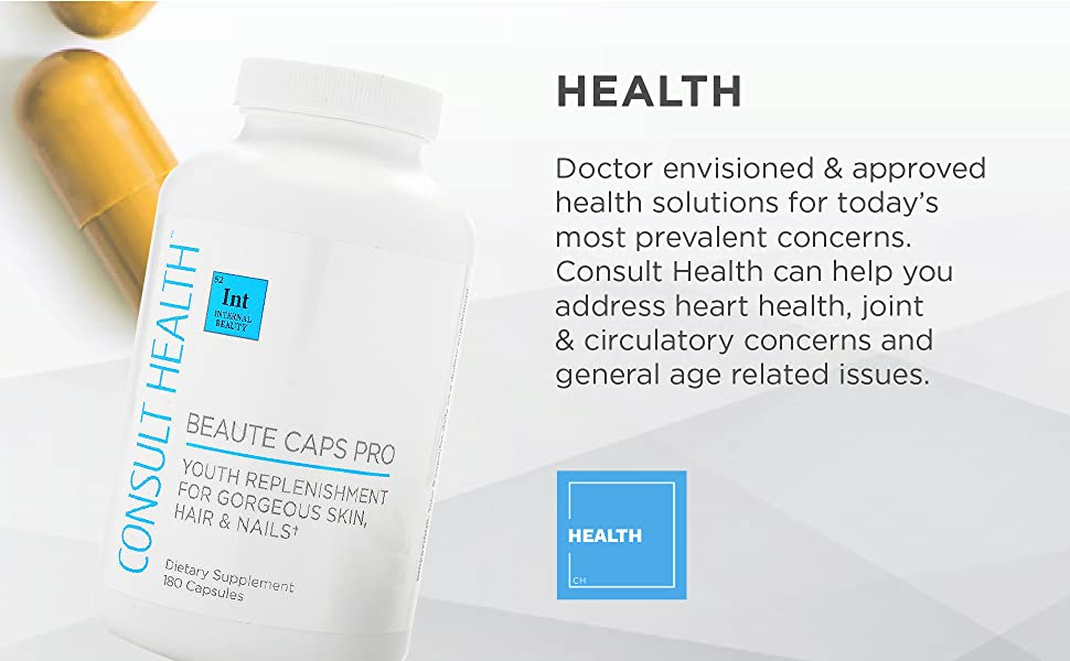consult health, capsules, supplements, vitamins, chews, drink mixes, anti-aging, heart, joint, blood