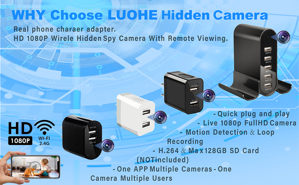 nanny cameras and hidden cameras