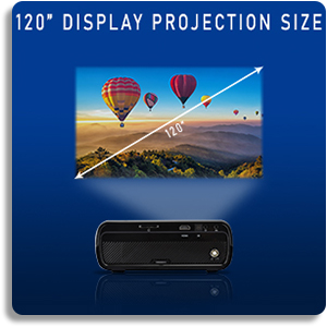 Everycom x7 Projector Projection