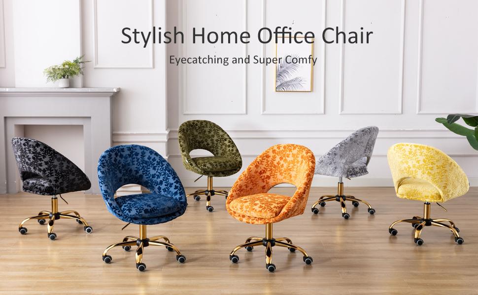 floral desk chair swivel chair office chair for women pretty