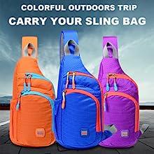 sling daypack