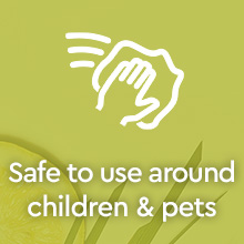 Puracy Natural Multi-Surface Cleaner - Organic Lemongrass 2pk - Safe to use around children & pets
