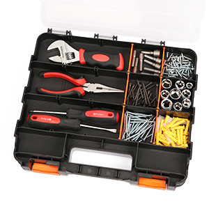 This handy and versatile container is perfect for parts, fasteners, screws, nails, nuts, bolts