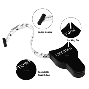 retractable measuring tape for body