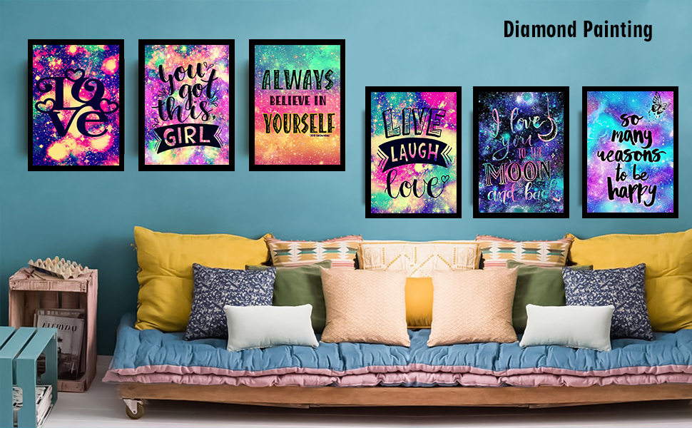Home Decoration 5D Diamond Painting Kits for Adults Kids Room Office Gift for Him Her To My Son 11.8x15.7in Pack By Cenda
