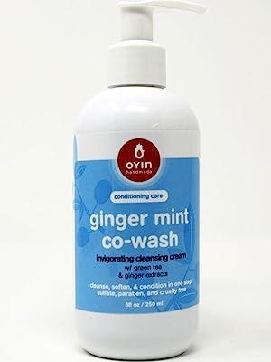 ginger mint co-wash