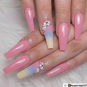 makartt ballerina nails