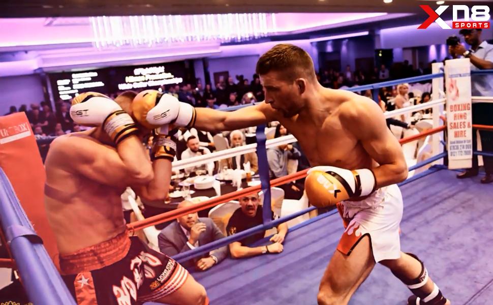 XN8 Guantes de Boxeo para Muay Thai y Entrenamiento - Moti Hide Cuero para Sparring, Kick Boxing, Grappling - Ideal para Combate Training y Saco Boxeo: Amazon.es: Deportes y aire libre