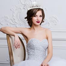 Bridal Tiara Crystal Rhinestones 21