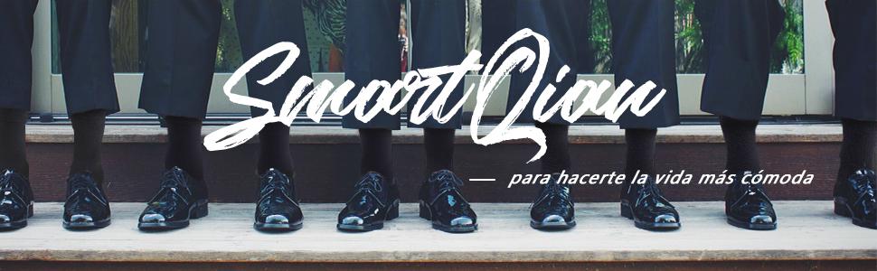 SmartQian 12 Pares Calcetines Hombres Mujeres Ejecutivos Negros de Algod/ón Transpirables Uso Diario Unisex