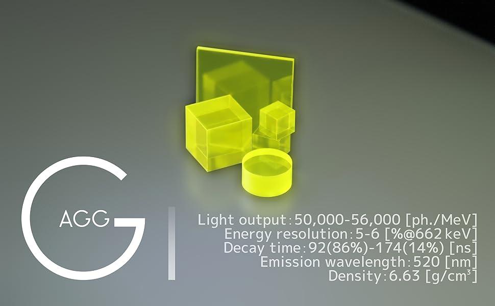 GAGG 本体 単結晶 シンチレータ