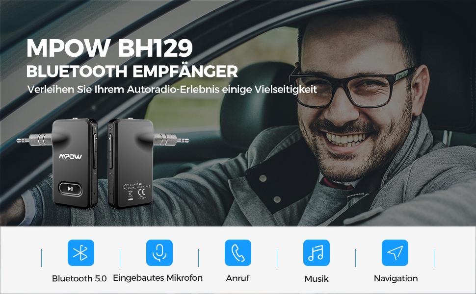 Mpow Verbesserter Bluetooth 5.0-Empfänge