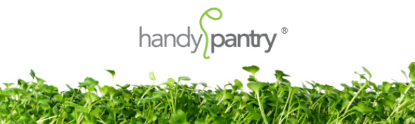 handy pantry brand organic wheatgrass wheat grass growing kits and sprouting seeds