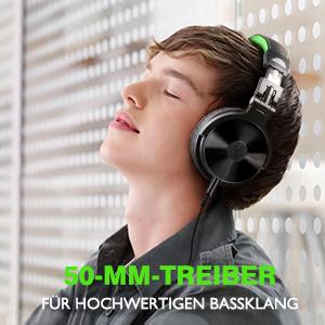 Bassklang DJ Kopfhörer