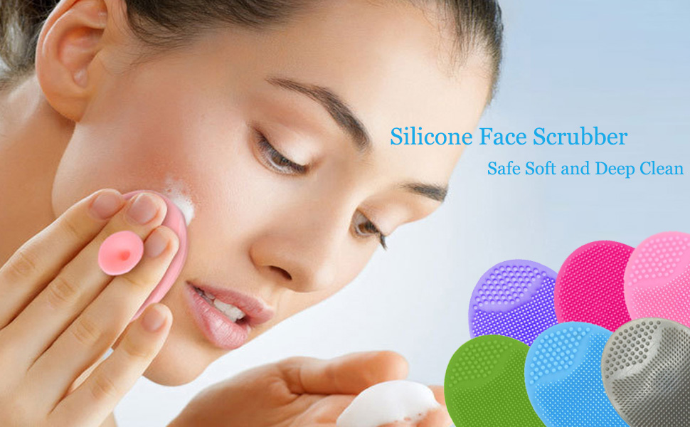 face scrubber,facial cleansing brush,face brush skincare tools for beauty