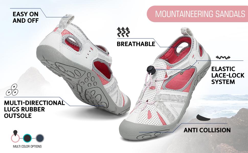 women sports hiking sandals