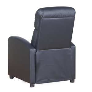 PRIXTON Fauteuil Relax ElectriqueFauteuil Massant Chauffant Inclinable avec Fonction de Chauffage et Massage, Télécommande Incluse, Couleur Noir,