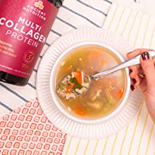 Add collagen to your favorite soups