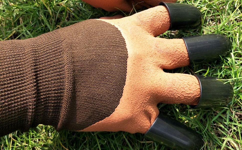 genie garden gloves with claws