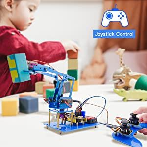 arduino robot arm kit 6 axis